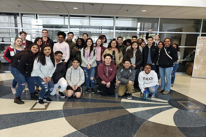 Spring Break! AIM Accompanies Upward Bound Students on a Five College Campus Tour through Oklahoma, Texas