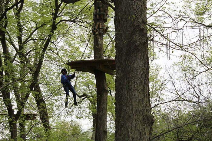 Upward Bound Students Build Teamwork, Self-Confidence at