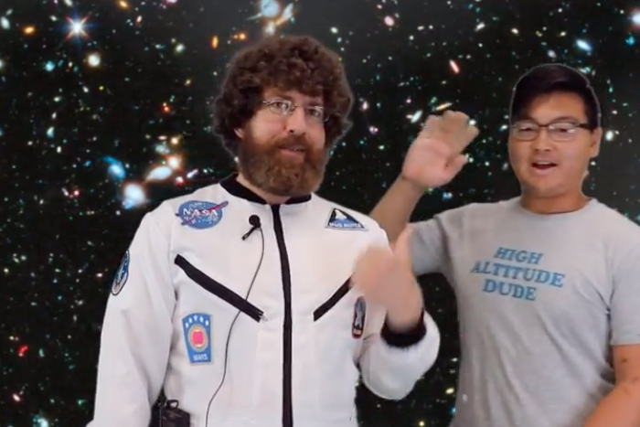 Ask an Astronaut Episode 3, Featuring Guest Director Michael Wu, Hits the Internet Today