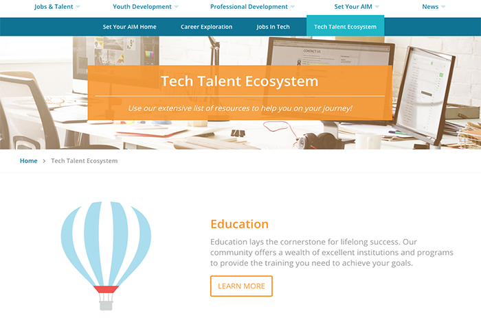 Check out our new Tech Talent Ecosystem tool!